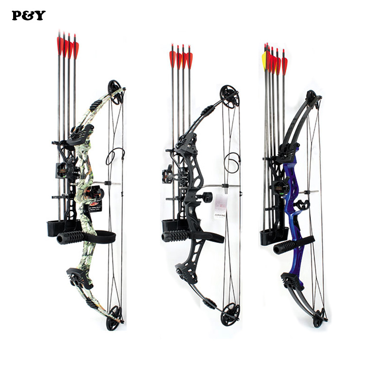 Junxing Compound Bow for Hunting Archery bow Right Hand 50-60 lbs Draw Weight Outdoor Shooting Athletics Bows Arrow Set hot sale children compound bow draw weight 8 12 lbs for archery practice competition games bow target hunting shooting page 4