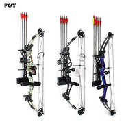 Junxing Compound Bow for Hunting Archery bow Right Hand 50 60 lbs Draw Weight Outdoor Shooting Athletics Bows Arrow Set