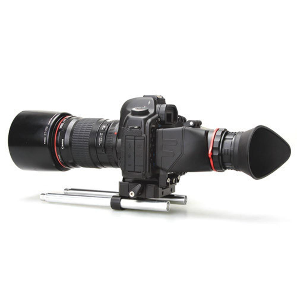 KAMERAR QV-1 KIT LCD VIEW FINDER FOR CANON 5D MarK III II 6D 7D 60D 70D Nikon D800 D800E D610 D600 D7200 D90 nikon d7200 kit черный