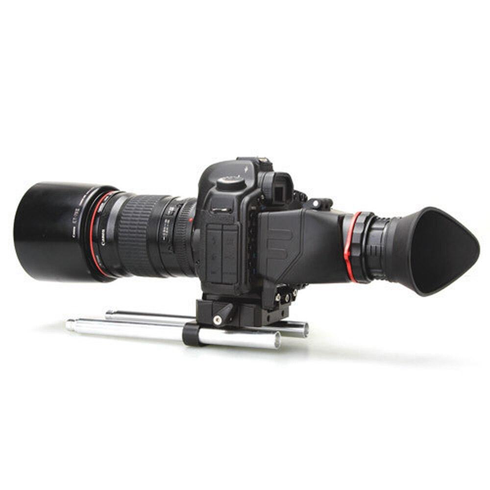 KIT KAMERAR QV-1 LCD VIEW FINDER PARA CANON 5D MarK III II 6D 7D 60D 70D Nikon D800 D800E D600 D610 D7200 D90