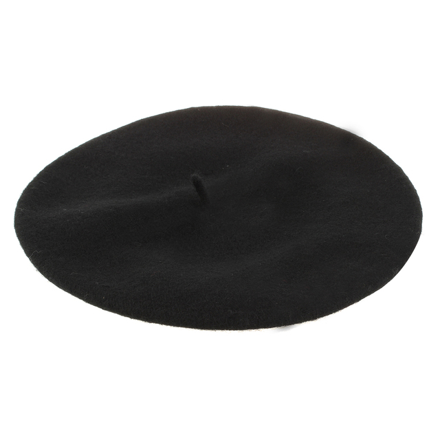 Ladies Wool Mix French Beret Hat Warm Winter Hat Ladies Girls Beret ... 17cf6d34b78e