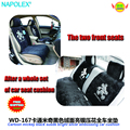 Car accessories  Cartoon mickey black suede bright silver embroidery all car seat cushion WD-167