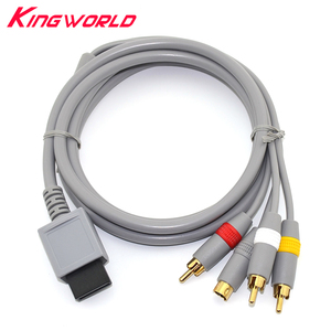 Image 1 - High quality RCA Audio Video S Video AV Cable Cord for W ii