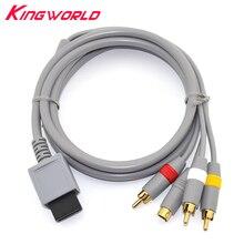 Hoge kwaliteit RCA Audio Video S Video Av kabel Koord voor W ii