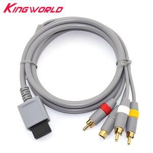 Image 1 - Yüksek kaliteli RCA Ses Video S video AV kablo kordonu w ii için