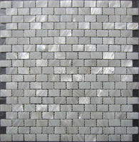 FREE SHIPPING Pure White Shell Mosaic Tiles Naural Mother Of Pearl Tiles Kitchen Backsplash Bathroom Wall