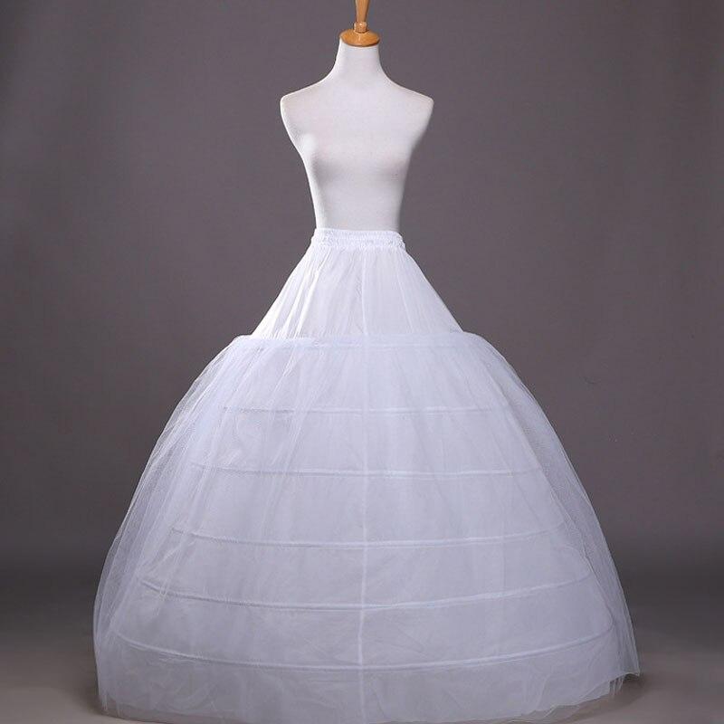 wedding plus size crinoline petticoat jupon tulle mariage wedding underskirt bustle crinoline WAS10031