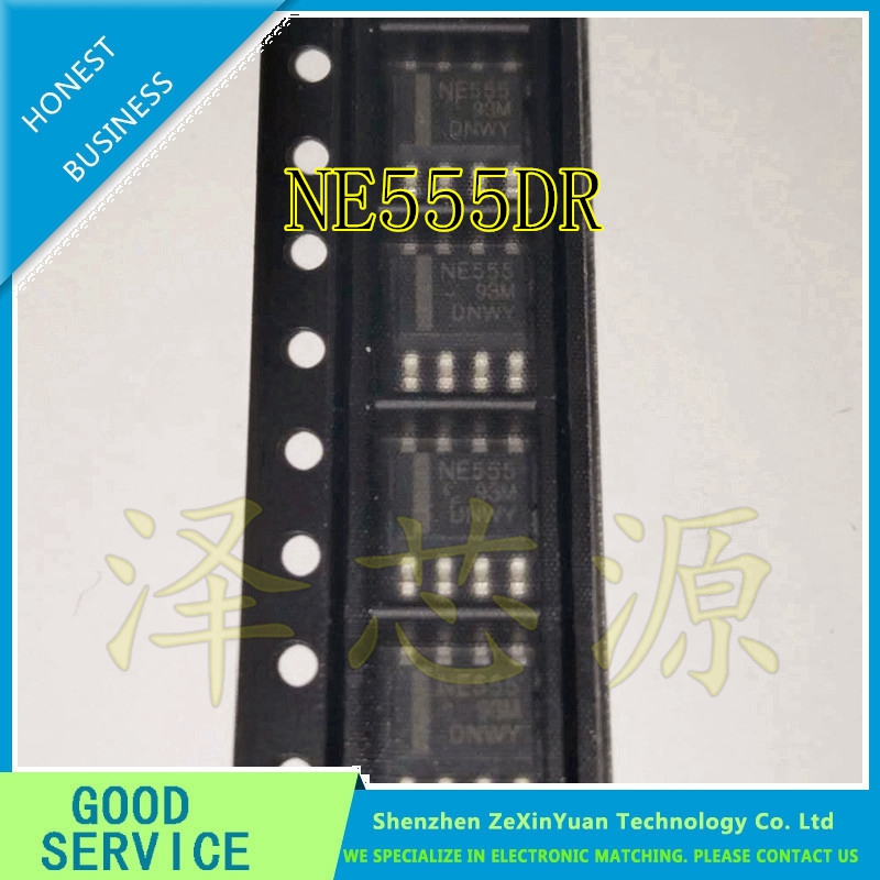 50PCS/LOT NE555DR NE555D NE555 IC 555 SOP-8 NEW