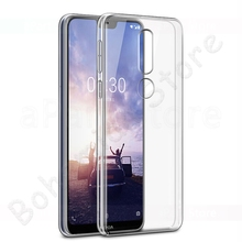 Phone Case For Nokia 1 2 2.1 3 3.1 5 5.1 6 6.1 7 7.1 X3 X5 X6 X7 8 9 2018 Plus Ultra-thin Slim Transparent Cover чехол nokia 2 slim crystal case transparent cc 104