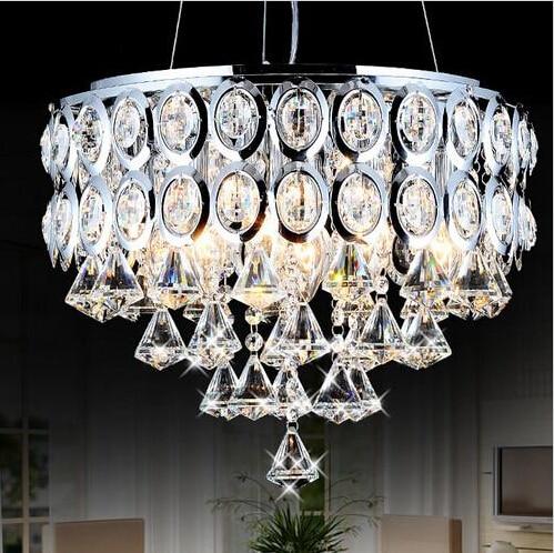Modern ceiling led light Crystal aisle foyer entrance hallway lights crystal ceiling light