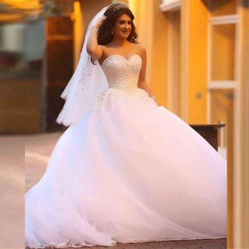 Crystal Bodice Wedding Gown: Popular Crystal Bodice Wedding Dress-Buy Cheap Crystal