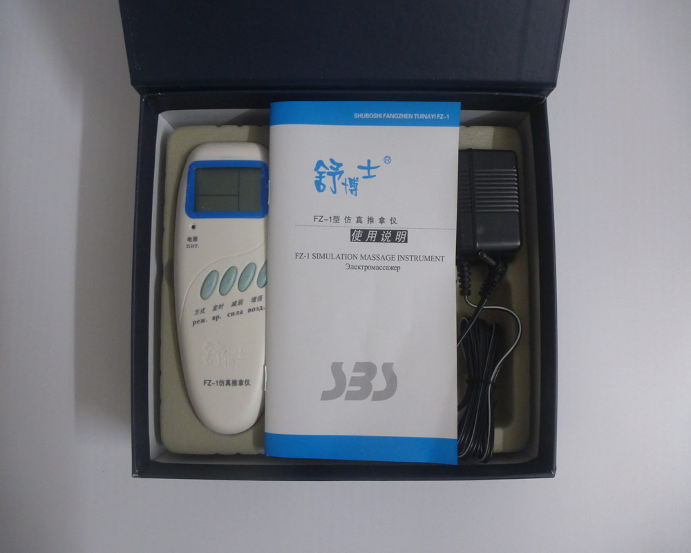 Новая Россия иглоукалывание Электрический массаж устройства органический dr FZ-1 ЖК дисплей шейного отдела позвоночника shuboshi Релакс