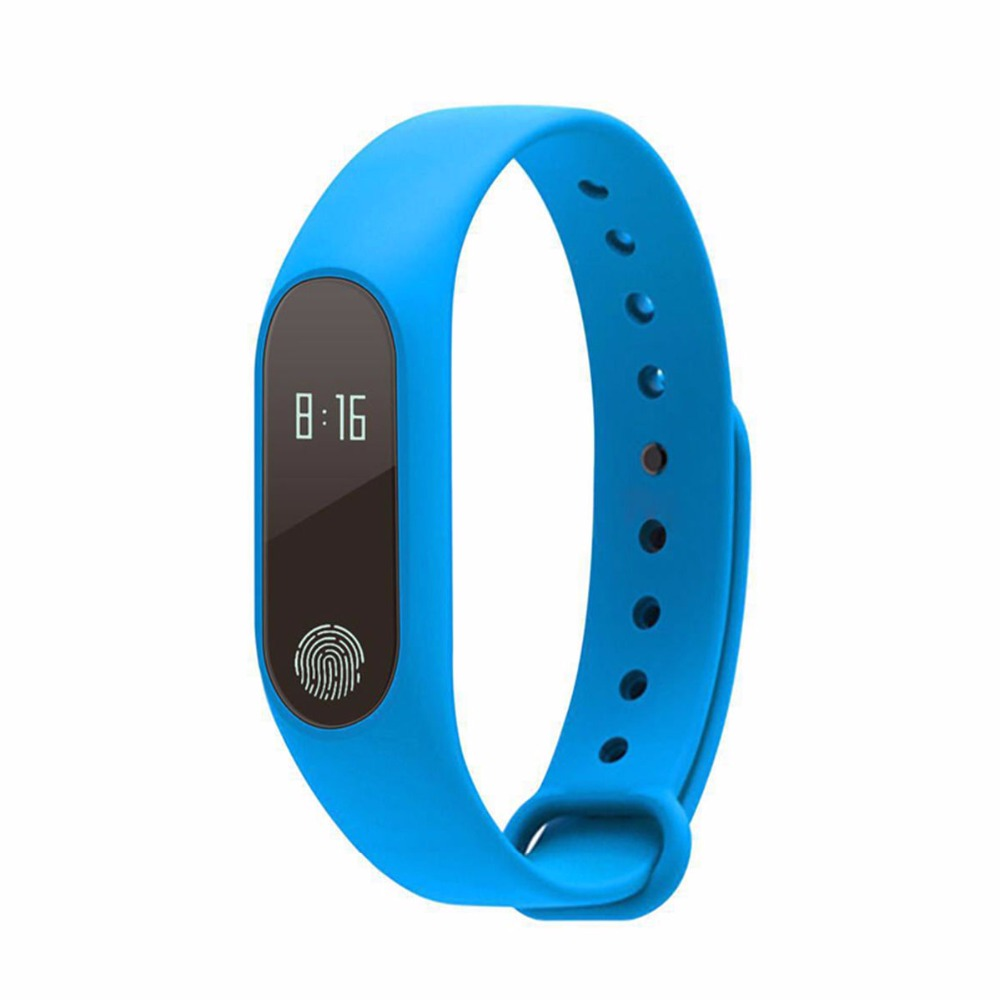 2017 intelligent M2 Smart Wristbands Smart Watch Fitness Sport Bracelet Pulsometer Sweatproof Call Reminder