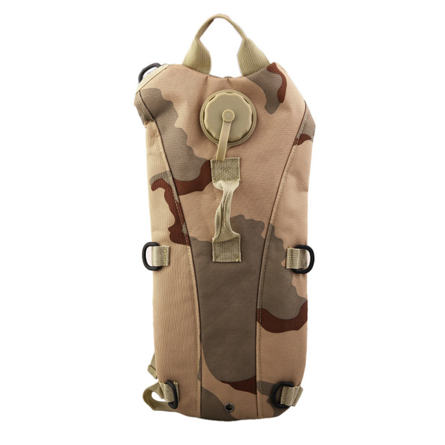 3L Outdoor Sports Digital Desert Camo Water Bag Backpack TPU Hydration System Bladder Camping Hiking Bicycle Water Bag