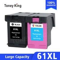 Toney King Compatible 61XL Ink Cartridge for HP 61 Envy 4500 4502 5530 Deskjet 1050 2050 3050 3054 3000 1000 Printer