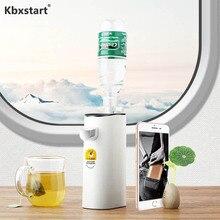 Kbxstart мини портативный диспенсер для мгновенной горячей воды, Настольный диспенсер, умный сенсорный переключатель, портативный диспенсер для напитков в путешествии