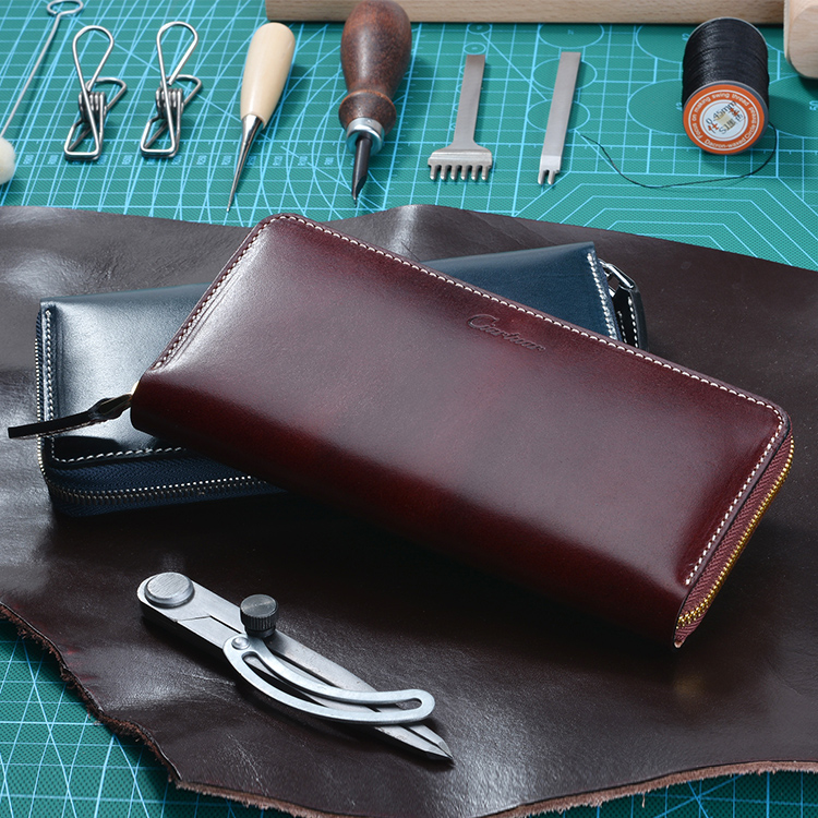 Fashion Luxury brand Leather Men Single zip wallet Long Clutch Bags Card bag Coin Purse For Men Clutches best qualit  have box