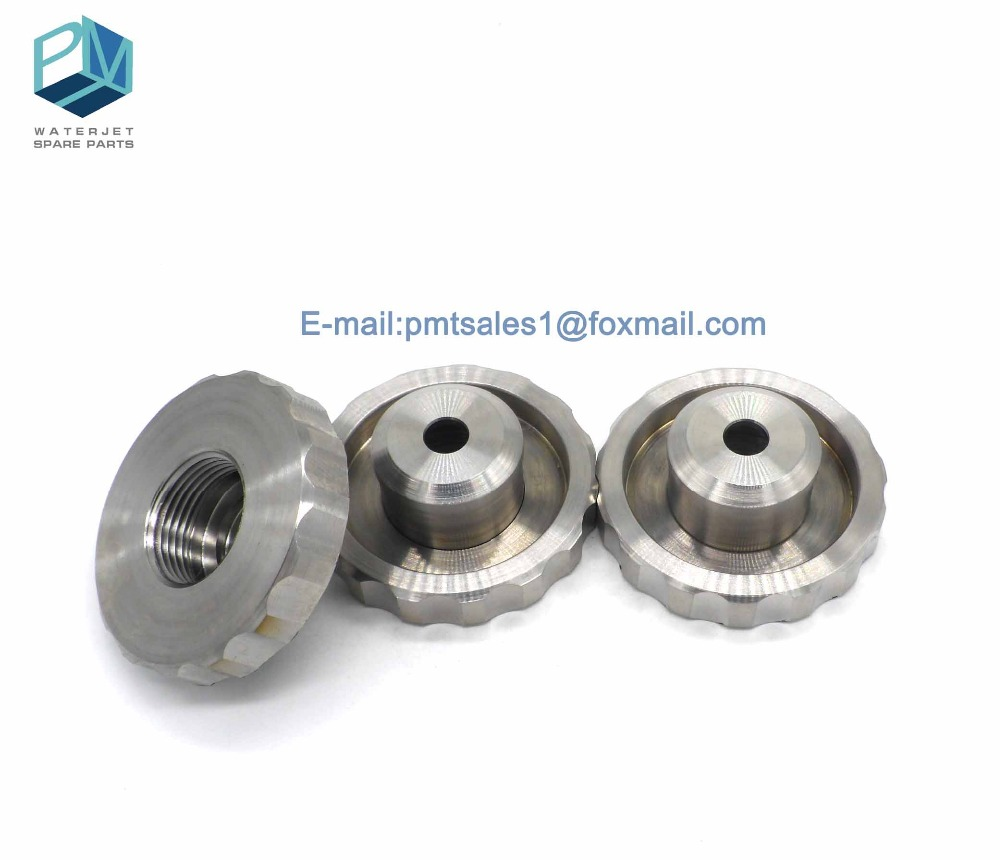 US $38 0  waterjet spare parts New Style Knurled Nut, 711589 1 for flow  waterjet cutting head-in Tool Parts from Tools on Aliexpress com   Alibaba