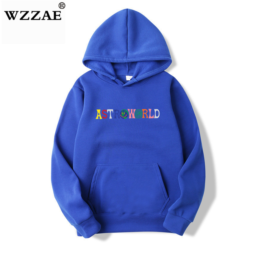 TRAVIS SCOTT ASTROWORLD WISH YOU WERE HERE HOODIES fashion letter ASTROWORLD HOODIE streetwear Man woman Pullover Sweatshirt 12