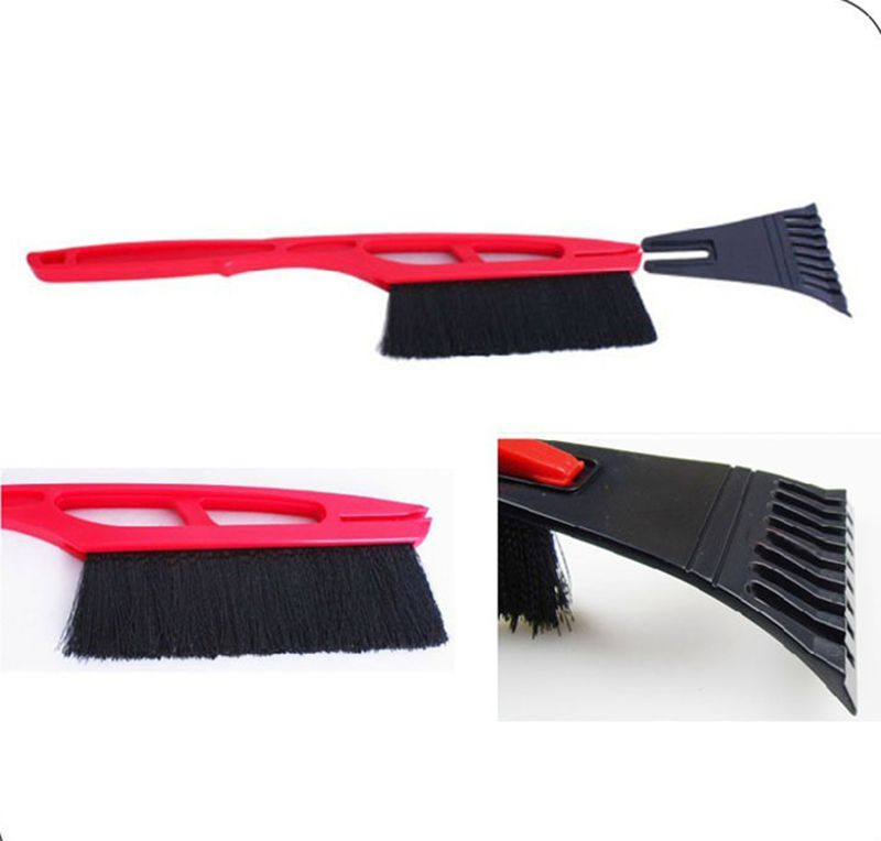Car Window Scraper Windshield Ice Removal Shovel Plate Board Defroster Brush,Snow Cleaning Tool Snow Brush