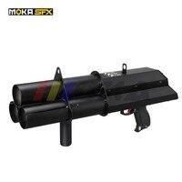 Efeito de palco máquina confetes canhão máquina de papel confetes arma máquina confetes atirador arma
