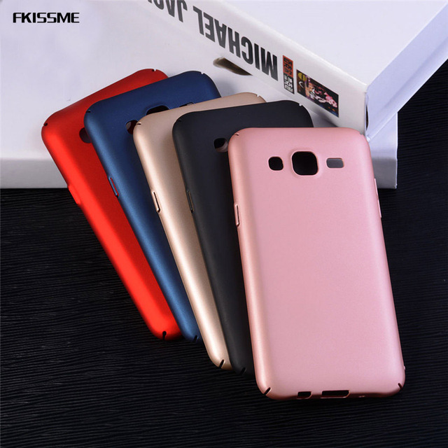 quality design b22b9 fc0ac US $1.72 35% OFF|FKISSME PC Plastic Matte Hard Case For Samsung Galaxy J5  2015 Ultra Thin Phone Cover Full Protective Case for Samsung J5 J500-in ...