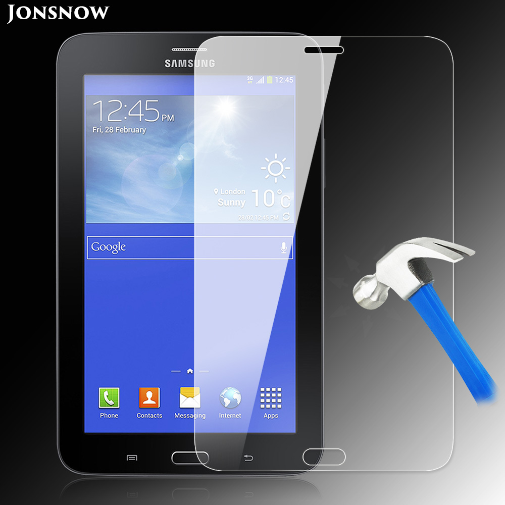 9H Tempered Glass for Samsung Galaxy Tab 3 Lite Screen Protector T110 T111 T116 / 7 inch Prevent Scratch Tablet PC LCD Glass все цены