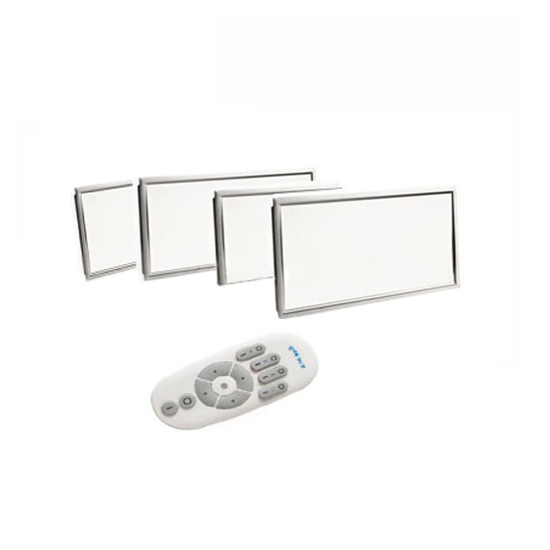 1X Newest 300*600mm 24W smart LED panel light with 2.4G remote controller CCT & brightness adjustment free shipping