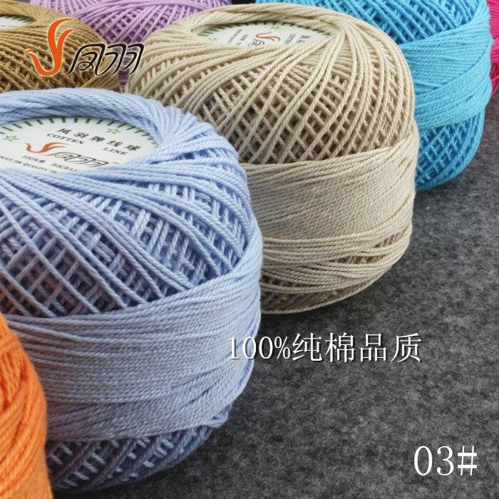 Knitting Yarn Aliexpress : Hot g pcs lot best quality cotton lace yarn