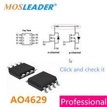 AO4629 SOP8 100 PCS 300 PCS 1000 PCS N + P Canal 30 V 6A-5.5A Mosfet 4629 Por Favor verifique a folha de dados em nosso link de Alta qualidade
