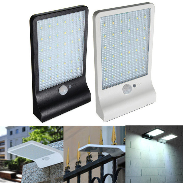 36 led solar power street light pir motion sensor light garden 36 led solar power street light pir motion sensor light garden security lamp outdoor street waterproof mozeypictures Gallery