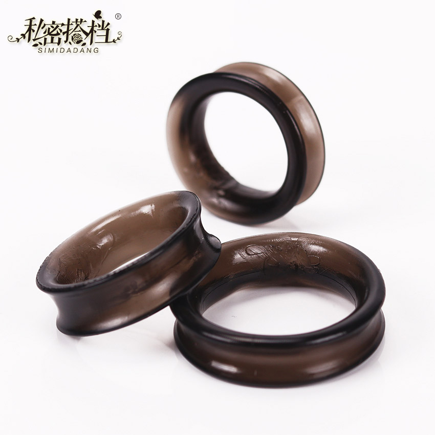 3PCS Penis Rings Cock Ring Time Delay Penis Adult Products Delay Male Sex Toys Health Fun Happy