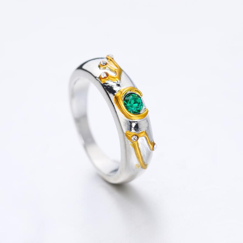 Game The Legend of Zelda Crystal Ring Cosplay Unisex Rings Jewelry Gift #6-#10 image
