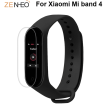 все цены на 1pcs/3pcs Protective Film For Xiaomi Mi band 4 watch bracelet Full Cover Ultra Thin HD Screen Protector Film Not Tempered Glass онлайн