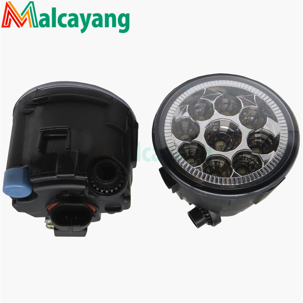 1 SET (Left + right) Car Styling Front LED Fog Lamps Fog Lights 26150-8990B For NISSAN MURANO 2007-2015 front right lower control arm fits for nissan x trail t30 2001 2007 54500 8h310
