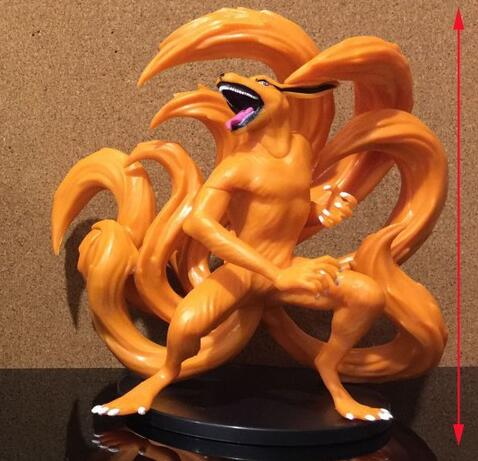 NEW hot 13cm 2pcs/set naruto Kurama kyuubi Shuukaku action figure toys collection Christmas gift doll with box new hot 23cm the frost archer ashe vayne action figure toys collection doll christmas gift with box