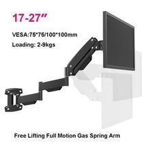 """17-27 """"Ultra-longo Braço de Mola de Gás Heavy Duty TV LCD Montar Titular Monitor de Movimento Total"""