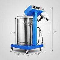 Latest Electrostatic Spray Powder Coating System Machine Spraying Gun