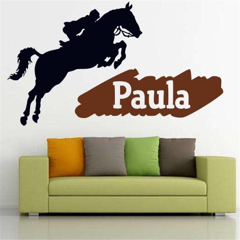 CABALLO JINETE HORSE RIDER VINILO PEGATINA VINYL STICKER DECAL AUFKLEBER