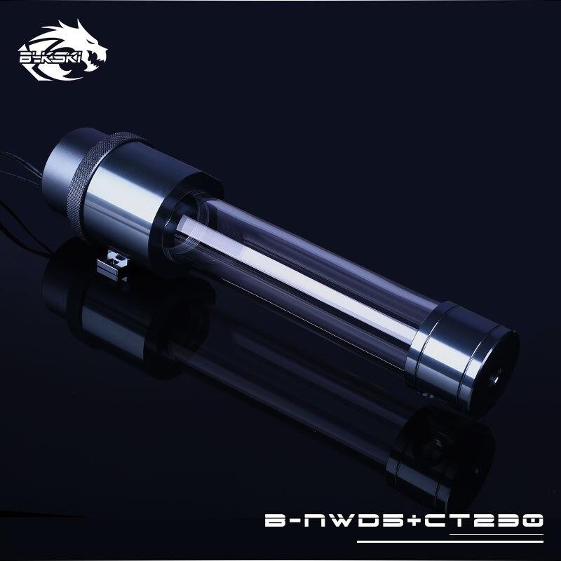 Bykski B-NWD5 CT réservoir intégré pompe de refroidissement à eau 1100/1500L 3.8M gris