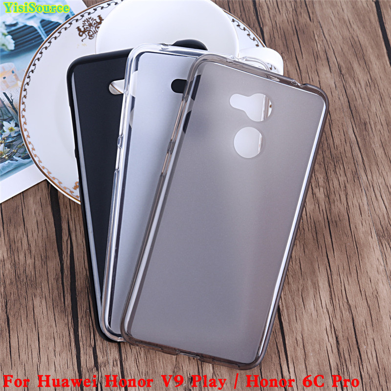 6A 6C 5A 7i Cover For Huawei Honor 6C Pro Case 360 Protection Soft Silicone Matte Phone Bumper Fitted Case for Honor V9 Play 6A