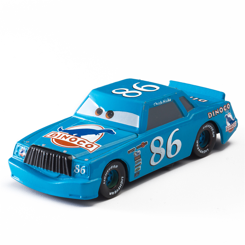 Disney Pixar Cars 2 3 Role No.86 The King Lightning Mcqueen Jackson Stormmater 1:55 Diecast Metal Alloy Model Car Toy Kid Gifts