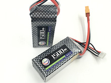 MOS 3 S batería 11.1 v 1500 mAh 25C lipo Para El helicóptero de rc coche de rc barco rc quadcopter batería de Li-polímero battey envío gratis