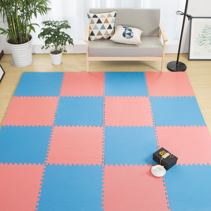 2.4CM Thick 60*60CM EVA Foam Puzzle Mat Exercise Tiles Foam Foor Mat Baby Game Pads Sports Hall Floor Mat Yoga Mattress