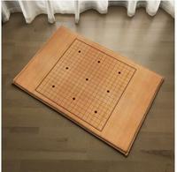 Chess Board Design Door Home Bedroom Bathroom Kitchen Pad Qiyuan Water Rug