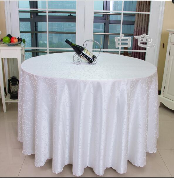 Table Cloth Table Cover Round For Banquet Wedding Party Tables Satin Fabric  Table Clothing Wedding Tablecloth Home Textile WT021 In Tablecloths From  Home ...