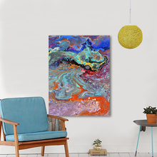 handpainted canvas painting oil on Wall Art Picture Canvas Abstract Painting For Living Room Home Decor