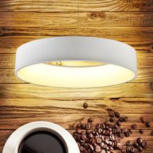 "LED Bar Luces pendientes de Comedor de Anular 18 ""/24"" 24 W/36 W ronda Post Moderna Lámpara de La Cocina sala de Estudio Lámparas de techo Lampen"