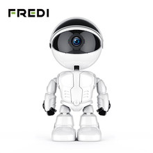 FREDI 1080P Home Security Robot Auto Tracking Camera CCTV Wireless WiFi Baby Monitor Night Vision Surveillance