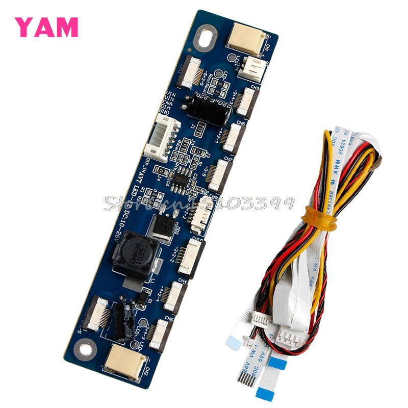 Backlight LED Inverter Tester 12 Connecters Constant Current Board Driver Board G08 Drop ship